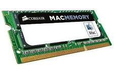 Corsair 4gb RAM Ddr3 1066 Cl7 204-pin So-dimm Laptop Memory for Apple Mac