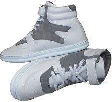 Zapatos De Cuero GOSHA RUBCHINSKIY X CAMPER Hi Top Entrenadores En Caja Raro SZ:UK8 EU42