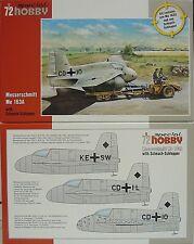 Me-163 A mit Scheuch Schlepper , Special Hobby,1:72, NEU!