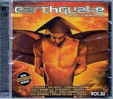 Earthquake vol. 3-Mixed by scott Brown & DJ Chaoz/2 CD-set-NEUF