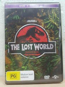 The Lost World Jurassic Park (DVD, 2015) Steven Spielberg film Regions 2&4 DU