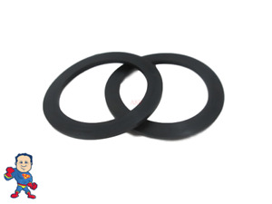 """2X Hot Tub Spa 2"""" Heater  or Pump Union Gasket Balboa Gecko ACC Video How To"""