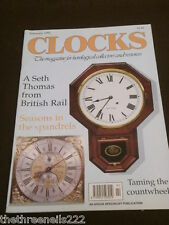 CLOCKS - A SETH THOMAS FROM BRITISH RAIL - FEB 1992