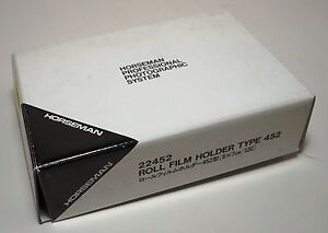 Horseman 6x7 Roll Film Back for 4x5 Universal Mount Large Format Camera in Box
