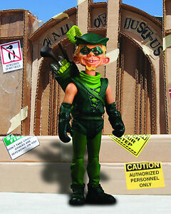 "MAD MAGAZINE ALFRED E. NEUMAN ""JUST US LEAGUE OF STUPID HEROES"" GREEN ARROW"