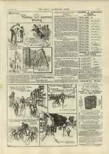 1890 Finchley Harriers Meeting 50 Mile Bicycle Record Hj Howard