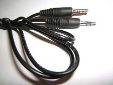 1.2m CB AUDIO MALE 3.5mm JACK AUX AUXILIARY EXTENSION INPUT MP3 IPOD LEAD CABLE