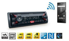 Sony DSX-A400BT Autoradio (Bluetooth, NFC, USB/AUX Anschluss, Apple iPod/iPhone