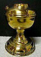 New Aladdin Deluxe Brass Table Desk Kerosene Oil Lamp Font N128-4 Alladin K102-U