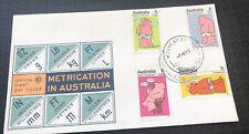 Australian Fdc 1973 Metrication In Australia