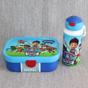 PAW PATROL Rosti Mepal Lunchbox & Pop-Up Bottle Child Toddler Lunch Set New