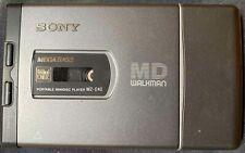 Sony Md Walkman Portable MiniDisc Player Mz-E40 with Mega Bass 1998