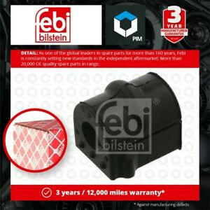 Anti Roll Bar Bush fits VAUXHALL CORSA C 1.0 Front Left or Right 00 to 06 Febi