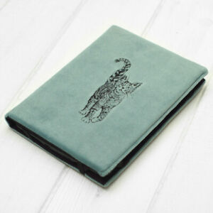 Cat Embroidery Velour Cover Case Kindle Voyage Touch Paperwhite Signature 2021
