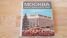 Vintage Russian  Book Photo Album MOSCOW