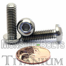TITANIUM M6 x 20mm - DIN 9427 BUTTON HEAD Socket Cap Screw - BHCS - Ti Hex Allen