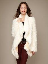 Free People Cascade Faux Fur Jacket XS