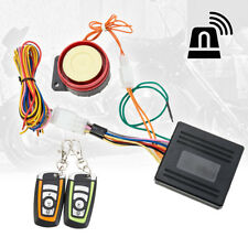 Motorcycle Bike Anti-theft Security Alarm System Engine Start Remote Control NEW