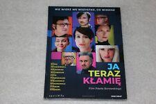 Ja teraz kłamię  - DVD POLISH RELEASE SEALED POLSKI FILM