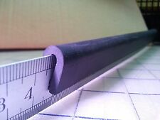 "U Channel EPDM Rubber Edge Trim 3/16"" HR 71G SOLD BY THE FOOT  3/16 X 5/8"