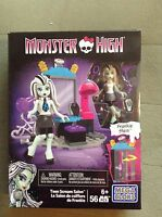 MEGA BLOKS Monster High  FRANKIE STEIN Teen Scream Salon 56 pieces