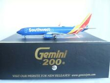 Gemini Jets 200 Southwest Airlines B737-800S New Color, Reg.# N8662F, 1:200 RARE