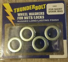 Thunder Bolt Wheel Washers For Nuts/Locks For Short Shank Mag. Pkg of 4