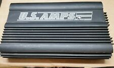 RARE US AMPS USA-150  2 CHANNEL AMPLIFIER  MADE IN USA Class D very powerful