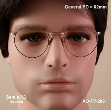 American Optical Ful-Vue True Antique Eyeglasses & Case