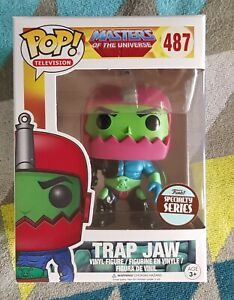 Trap Jaw 487- Masters of the Universe- Funko Pop! Vinyl - 2017