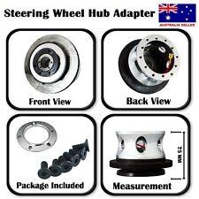 New Toyota Aluminium Chrome Steering Wheel Boss Kit Celica/Corolla/MR2