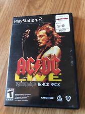 AC/DC Live: Rock Band Track Pack  (PlayStation 2, 2008) Ps2 Cib BT1