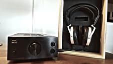 STAX SR-009 Headphone & SRM-727 II Solid State Amplifier