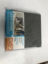 """YOU AND ME M Dog Crate Kennel Cover Grey 30"""" L, 20"""" W & 19.5"""" H"""