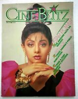 Cineblitz Apr 1989 Sridevi Vinod Khanna Mithun Chakraborty Danny Sharmila Simple