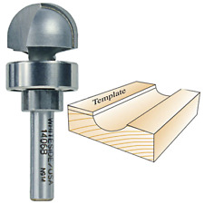Whiteside Router Bits 1406B Round Nose Bit with Bearing