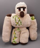"Mojang Minecraft Iron Golem Plush 14"" Spin Master Jinx Stuffed Animal Toy"