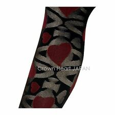 Vivienne Westwood Licensed Pantyhose Stocking Tights Alice Orb Heart Japan-Made