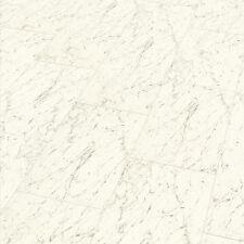 Laminat-Fliese hochglanz superglanz Dekor Carrara Weiss
