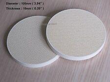 "2 Pcs Soldering Board Ceramic honeycomb Solder Board Heating 100mm  4"""
