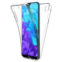 """Coque Etui 360° Clear FULL TPU Gel Silicone Huawei Y5 (2019) 5.71"""" AMN-LX1"""