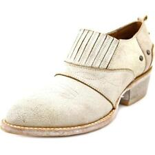 Zapatos planos de mujer de color principal blanco de piel talla 37.5