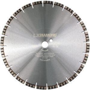 LXDIAMOND Diamant-Trennscheibe 300 mm x 25,4 Stahl-Beton Scheibe Motoflex Ziegel