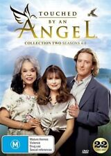 TOUCHED BY AN ANGEL - SEASON 4 5 & 6 box set-   DVD - UK Compatible - New sealed