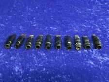 Lot of 10 Alto Saxophone Mouthpieces Ser#isi9312-14 Bundy/Selmer/Conn etc.
