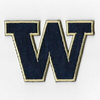 NCAA Washington Huskies Iron on Patches Embroidered Patch Applique Badge Emblem