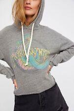 Trunk ltd hoodie, lynyrd skynyrd, cropped, rock n roll, grey, pullover, s. xs