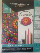 Prismacolor Premier 25 pc Sealed Kit w/ Colored Pencils, Marker, Book Etc