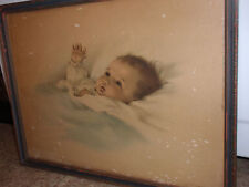 Antique Baby Picture. Bessy Pease Gutmann, 19 X 14 1/2 In.