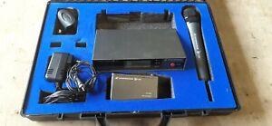 Sennheiser radio microphone Both Handheld and Lavaliere Set